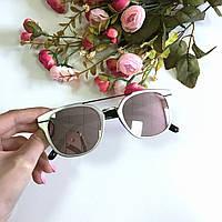 Женские солнцезащитные очки Dior Machine серебро, магазин очков