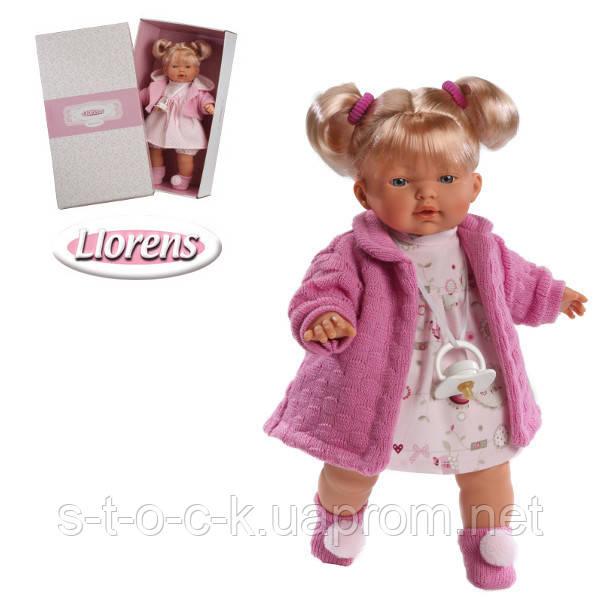 Чудесная кукла Llorens Carol. 33см Испания