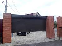 Ролетные ворота RH 58 Ral 8014
