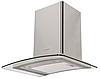 Pyramida HEE 91 B-600 (600 мм.) декоративная кухонная вытяжка, нержавеющая сталь / закаленное стекло