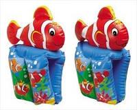 56650 Нарукавники рыбки детские надувные 37х22см 6-12лет — Intex (Интекс)