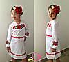 Детское платье с вышивкой на девочку (122-140)