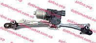 Механизм стеклоочистителя переднего (с мотором) Doblo 2009- (трапеция дворников), Арт. 51810592,  FIAT
