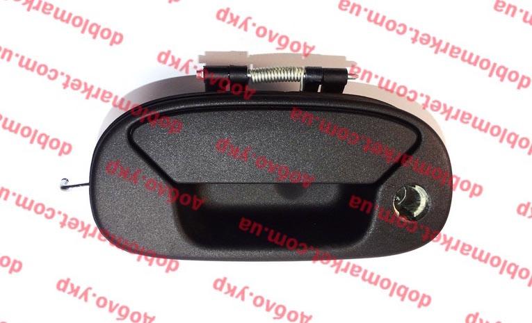 Ручка крышки багажника (ляда) Doblo 2000-2016 (эл. блок.) (OPAR), Арт. 735331105, 735331105, FIAT