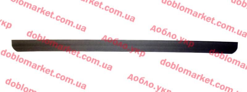 Спойлер (губа) бампера переднего нижний Doblo 2009-, Арт. 51828678, 51828678, FIAT