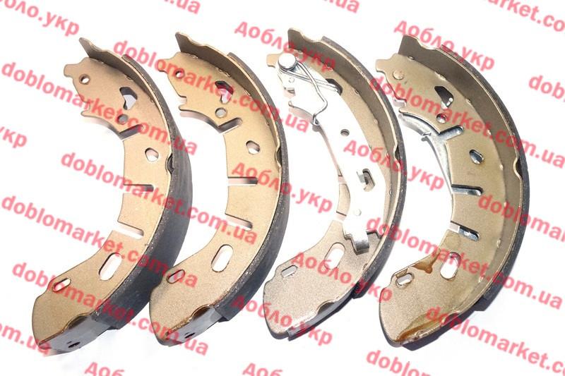 Колодки тормозные задние барабанные (ЗТК) Doblo 2009-2015, Арт. PB294119, 77365346S, AUTOTECH