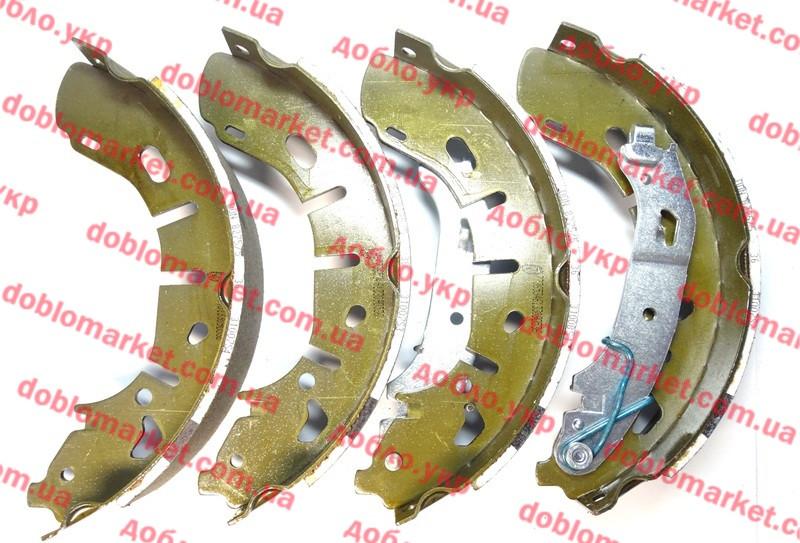 Колодки тормозные задние барабанные (ЗТК) Doblo 2009-2015, Арт. PB294119, 77365346, AUTOTECH