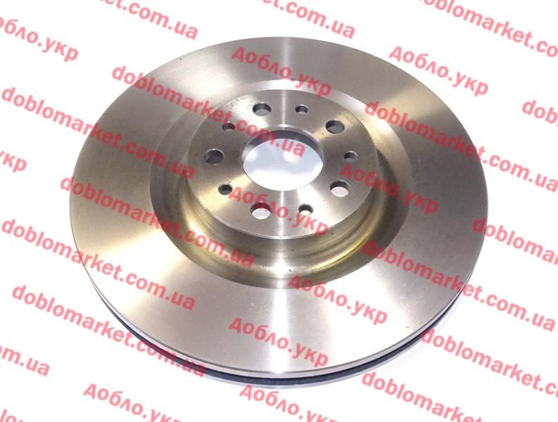 Диск тормозной передний 305мм (ПТД) Doblo 2009-, Арт. 51897455, 51897455, 51854567, FIAT