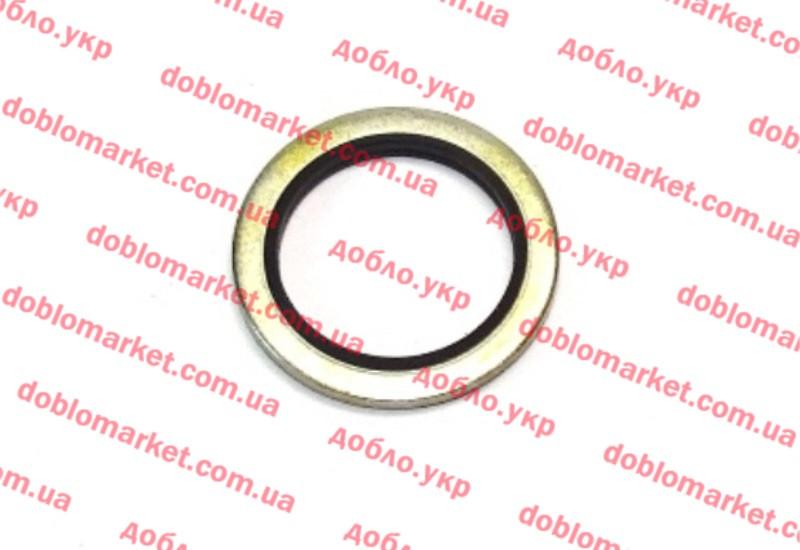 Уплотнительное кольцо пробки поддона масляного 1.6MJTD 16v - 2.0MJTD 16v Doblo 2009-, Арт. 55196309, 55196309, FIAT