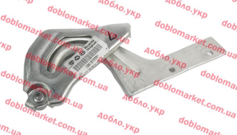 Петля (Завес) капота левая Doblo 2009-, Арт. 52042754, 51810391, 52042754, FIAT