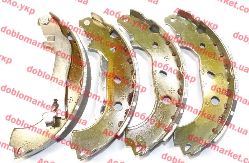 Колодки тормозные задние барабанные (ЗТК) Doblo 2005-2016, Арт. 0986487885, 77363946, BOSCH