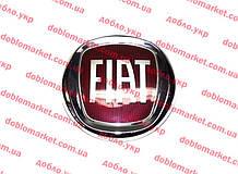 Эмблема решетки радиатора красная Doblo 2009-, Fiorino D120mm, Арт. 0735578621, 735578621, PLEKSAN