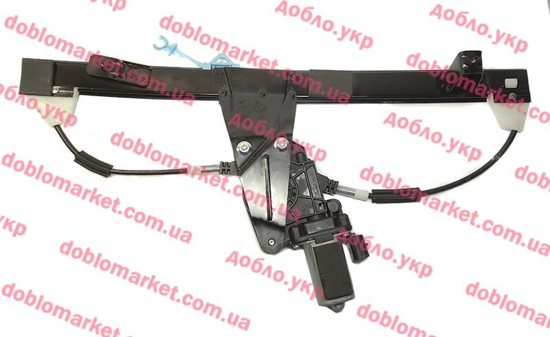 Стеклоподъемник электрический правый Doblo 2000-2016 (OPAR), Арт. 51718403, 51718403, FIAT