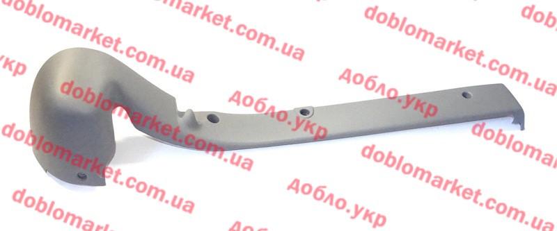 Крышка направляющей сдвижной двери правой верхняя Doblo 2000-2005 (OPAR), Арт. 735387401, 735387401, FIAT