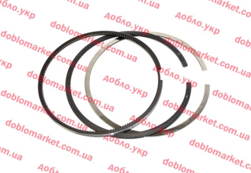 Кольца поршневые (к-т на 4 цил) 1.9D Doblo 2000-2005  STD 82.00*2.5*2.0*2.0 , Арт. 14008208 std, 71718185, POWER SEAL