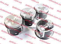 Поршни 1.9D  STD 82.00 Doblo 2000-2005 (с кольцами), Арт. 1104027, 71718179, YENMAK