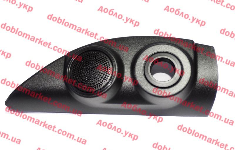 Декоративная накладка левая под механическую регулировку наружного зеркала Doblo 2009 - (салон), Арт. 735498631, 735498631, FIAT