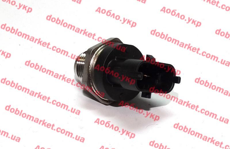 Датчик давления топливной планки 1.9JTD-1.9MJTD Doblo 2000-2016, Арт. 55195077, 55195077, 55190763, FIAT