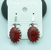 Сережки из натурального камня от Бижутерии RRR в Украине. 2201