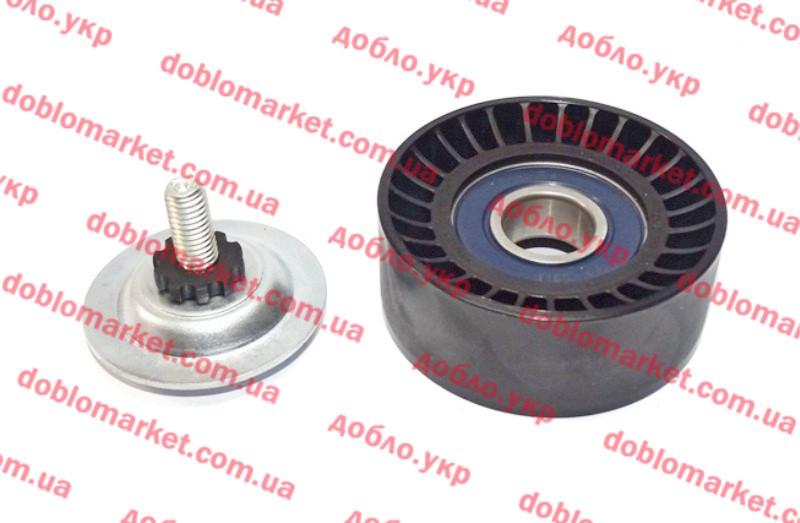 Ролик обводной ремня генератора +АС Doblo 2009-, Арт. 51815020, 51815020, FIAT