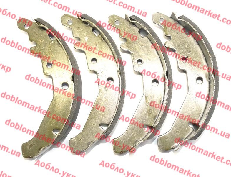 Колодки тормозные задние барабанные (ЗТК) Siena 2005-2012, Арт. 3031515, 77362454S, HEMMA HATTAT