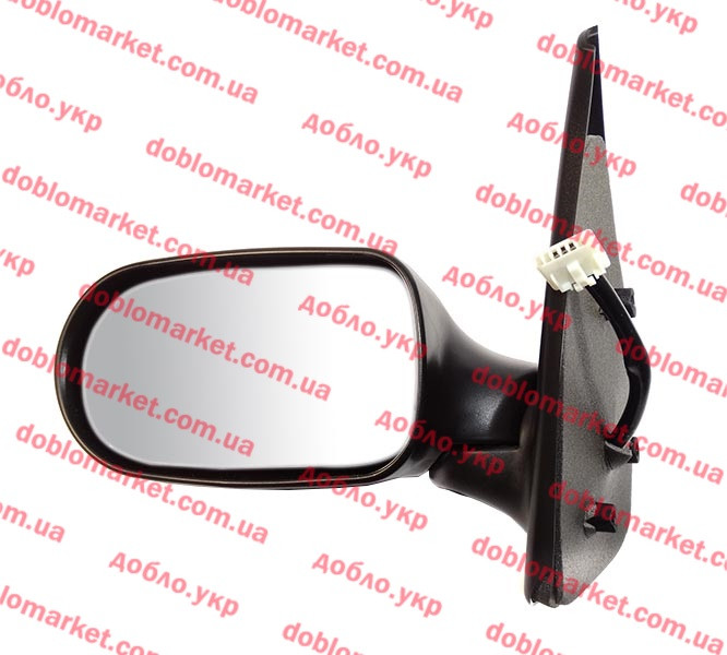 Зеркало левое Albea Siena 2005-2009 (электрическая регулировка), Арт. 164121, 735362265, PLASTIKAP