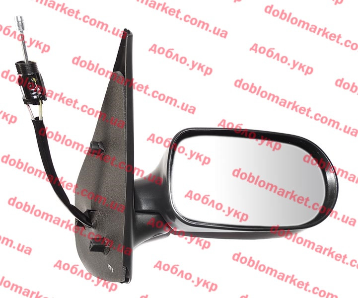 Зеркало правое Albea Siena 2005-2009 (регулировка джойстиком), Арт. E1332, 735362258S, SPJ