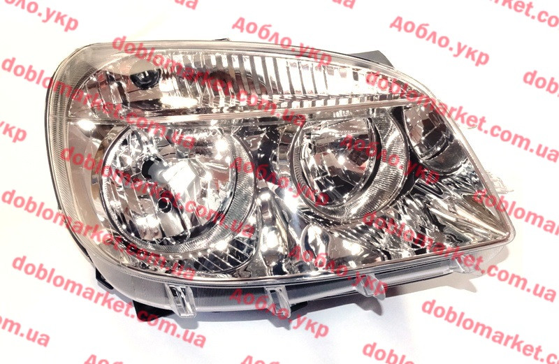 Фара правая Doblo 2005-2016, Арт. 661-1150R-LD-EM, 51805934, DEPO
