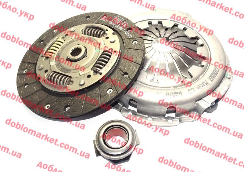 Комплект сцепления 1.2i 16v Albea-Siena 2005-2012 (OPAR), Арт. 71752222, 71752222, 71734892, 71728567, 71719817,  71784873, 71793483, 71784871, FIAT