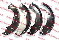 Колодки тормозные задние барабанные (ЗТК) Doblo 2000-2005, Арт. 77362452E, 98845054, 77362452, 7082149, 7083041, OPAR