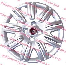 Колпак колесный R14 (красный) Doblo 2000-2016, Арт. 51811409, 51811409, FIAT