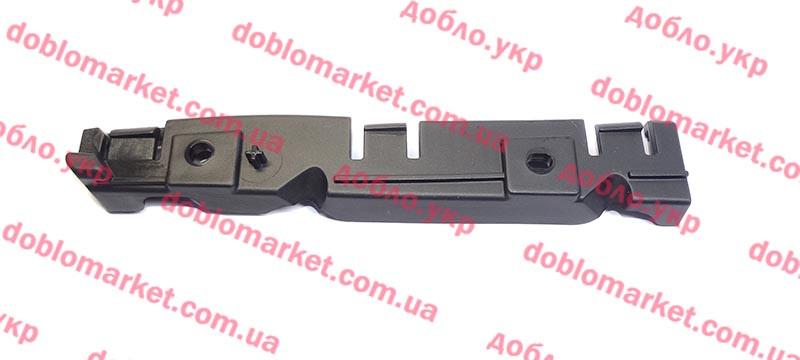 Скоба крепления бампера переднего правая Fiat 500 2012-, Арт. 52054126, 52054126, FIAT
