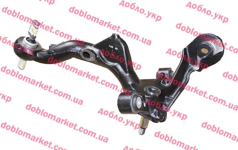 Рычаг качающийся задней подвески левый Doblo 2009- (OPAR), Арт. 51810107, 51810107, 51999721, FIAT