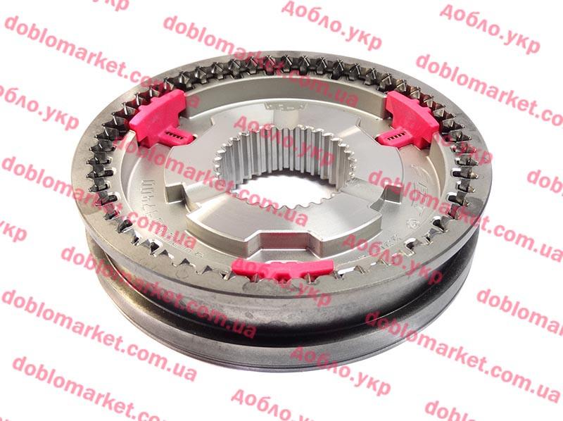 Муфта 1-2-ой передачи 1.4i (88 kw)-1.6MJTD-2.0MJTD Doblo 2009-, Арт. 55259714, 55259714, 55270784, FIAT