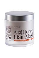 Маска для волос питательная Медовая Natura Siberica Fresh Spa Bania Detox 400мл