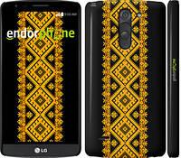 "Чехол на LG G3 Stylus D690 Вышиванка 31 ""600c-89"""