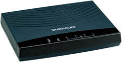 ADSL модем Surecom EP-4804SX-V, 4xLan, 1xRj-11