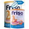 Сухая детская молочная смесь Friso Фрисолак Gold 2 Вес 900 г