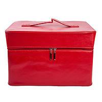 Алюминиевый для мастера маникюра или парикмахера - CaseLife A-25 Красный - A25-RED