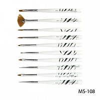 Набор кистей для рисования MS-108