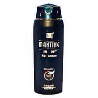 Шампунь от демодекса Синий Manting (Мантинг) -для устранения зуда и смягчения кожи, 280 мл.