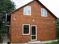 Каркасный(деревянный) дом 7х5 со всеми комуникациями построить  дешево.