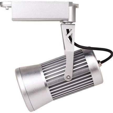 Светодиодный трековый светильник Horoz HL825L 20Wсеребро Код.57127, фото 2