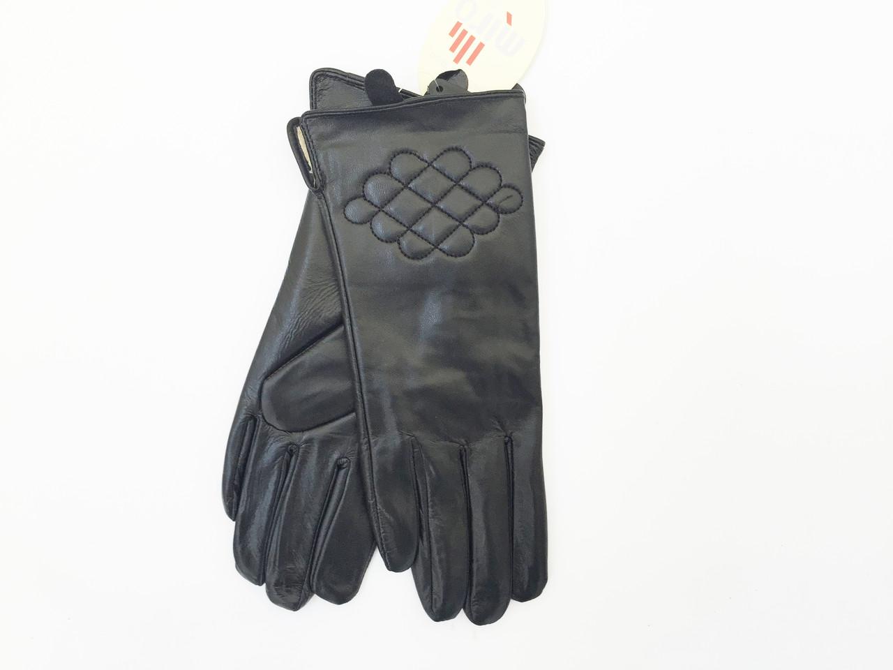 Перчатки кожаные женские в МАЛЕНЬКОМ размере