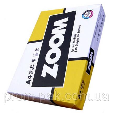 Zoom Папір офісний  A4 щіл80  500арк, фото 2