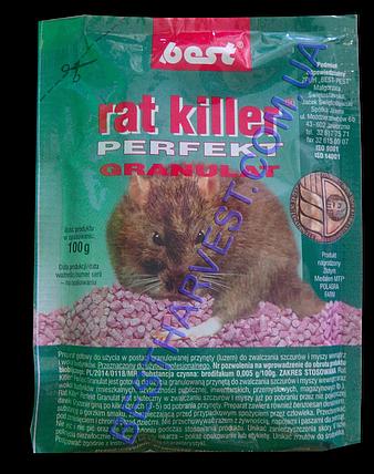 Rat Killer (Рат Киллер) Perfect Granulat от крыс и мышей 100 г оригинал, фото 2