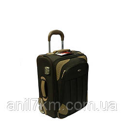 Малый турецкий чемодан на двух прорезиненных колёсах фирмы CCS