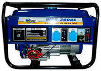 Бензиновый генератор WERK WPG 3000E на 2,5 кВт. 220 V