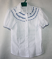 Блуза на девочку для школы оптом (28-36 р.;страна производитель Турция)