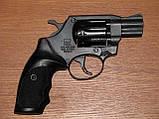 Револьвер под патрон флобера ALFA model 420 рукоять пластик, фото 2